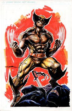 Wolverine brown by ~Cinar on deviantART