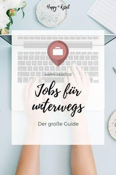 Reisen und dabei Geld verdienen? Diese Jobs erlauben dir ortsunabhängig zu arbeiten und als digitaler Nomade zu leben. Blog, Make Money On Internet, Freedom, Viajes, Tips, Blogging
