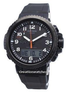 Casio Protrek Digital Compass Solar Men's Watch for sale online Casio Protrek, Seiko 5 Sports Automatic, Seiko Automatic, Casio G Shock, Seiko 5 Military, Invicta Pro Diver Chronograph, Solar, Watch Gears, Watch Model