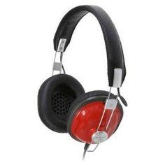 Panasonic Old School Style Monitor Headphones RP-HTX7E-R