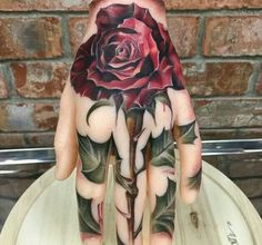 Beautiful hand tatt