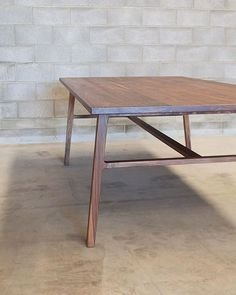 Willox table in solid American Black Walnut. 2500 x 1200mm ✌️