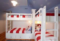 Corner bunk