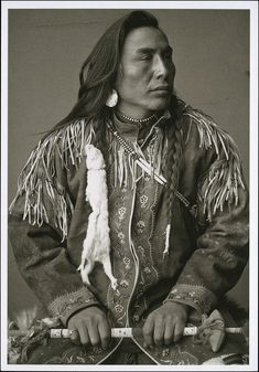 Sixapo (Black Plume)/ Blood Nation / Southwestern Alberta / Frederick Steele / 1895
