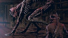 Tumbling the Tripwire Bloodborne Art, Soul Saga, Character Design, Dark Souls Art, Dark Fantasy, Fantasy Creatures, Art, Soul Art, Creature Design