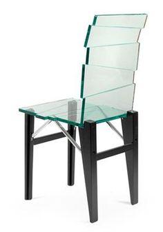 """A """"Luigi"""" chair, designed by Luigi Serafini,"""