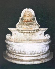 Fontana CAVA a Muro in cemento cm229x115x213H - arredogiardini.it