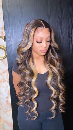 Wig Styles, Curly Hair Styles, Natural Hair Styles, Ponytail Styles, Frontal Hairstyles, Baddie Hairstyles, Colored Weave Hairstyles, Straight Hairstyles, Weave Hair Color