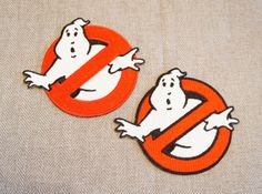 Ghostbusters Patch - Movie No Ghost Fully Embroidered Costume Patch / Badge / Emblem / Applique Iron on or Sew on by MirrorUniverse on Etsy https://www.etsy.com/listing/492838177/ghostbusters-patch-movie-no-ghost-fully
