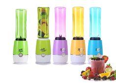 Έχετε δει εκείνες τις υπέροχες συνταγές για γευστικά smoothies; Έχετε πιει σε μαγαζιά πεντανόστιμα milkshakes; Θέλετε πρωινό για 2 από χυμούς φρούτων; Αυτό το Blender - Μπουκάλι για smoothies και χυμούς - Shake N Take Bottle Blender θα σας τα προσφέρει με εξαιρετική ευκολία! Πρόκειται για ένα πανίσχυρο Blender με το οποίο μπορείτε να στύψετε χυμούς, να φτιάξετε κρύο τσάι, γευστικά smoothies, milkshakes από φρέσκο γάλα και φρούτα εποχής, coktails, φρουτόκρεμες. Ανακατεύει πάγο, φρούτα και…