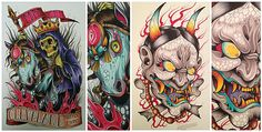 another set of inspiration tats for my skin! or wanting others who's into tats realize gettin a good ink, design and artist matters mos. Tattoo Sketches, Tattoo Drawings, Tattoo Art, Tattoo Flash Sheet, Asian Tattoos, Creative Sketches, Body Mods, Tatting, David