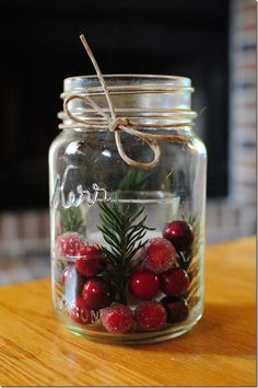 World Inside Pictures Wand to get you into the Holiday spirit with this great DIY Mason Jar project. Check it bellow and enjoy ! Snow Globe   turorial Pinecones and Candles  tutorial Gilded Jars   tutorial Advent Candles tutorial Spruce and Berry Filled Candle Holder  tutorial Christmas in a Jar tutorial Easy Snow Globes tutorial Mercury Glass tutorial Glittery Candle Holders tutorial White Christmas Luminaries tutorial