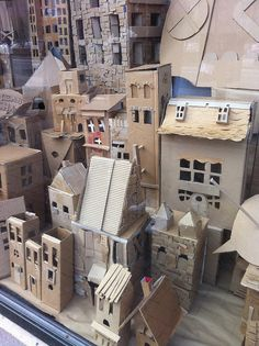 the art projects that come from Incredible Examples Of Cardboard City Art which the byproduct of all our online forays.