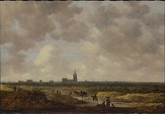 A View of The Hague from the Northwest - 1647.   Jan van Goyen  (Dutch, Leiden 1596–1656 The Hague)