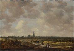 A View of The Hague from the Northwest - 1647.   Jan van Goyen  (Dutch, Leiden 1596–1656 The Hague)