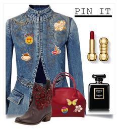 """""""pinning it"""" by bonnie-wright-1 ❤ liked on Polyvore featuring Alexander McQueen, Shourouk, Olympia Le-Tan, Miss Selfridge, Furla, MIA and Chanel"""