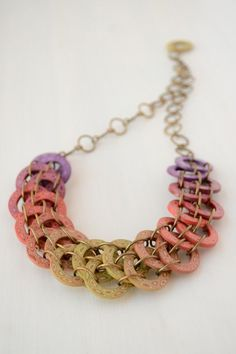 Colorful statement necklace  - best Mother's Day gift