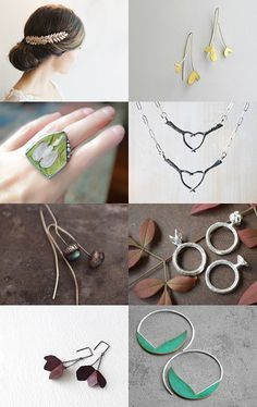 Jewelry Now! - Botanica by Andreia on Etsy--Pinned with TreasuryPin.com