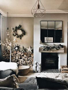 A Copper Woodland inspired Christmas with Cox and Cox - Hygge For Home