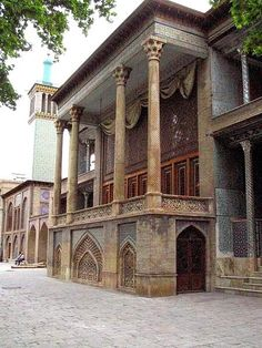 THE PALACE Golestan Palace, Tehran, of The Emperors of Persia and Iran