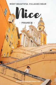Most beautiful villages and towns near NICE, FRANCE. Hilltop villages and beach towns such as Menton! What to do in Menton, what to do in south of France. #france #francetravel #nice #menton #cotedazur #cotedazurfrance #french #traveldestinations #traveltips #travelphotography