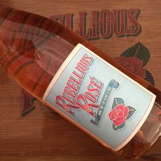 Rebellious Rose – Country, Folk & Americana music duo - Logo design by Bold Statements