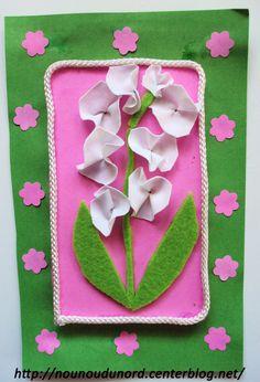 Flower Crafts, Flower Art, Kids Crafts, 1. Mai, Relief, Spring Time, Jar, Crochet, Flowers