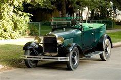 1929 Ford Model A Phaeton on '35 Ford wheels.