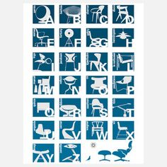 Alphabet Blue now featured on Fab.