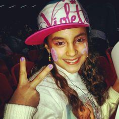 Violetta in concerto!! Violetta en vivo!!! ♡ *-* Napoli 22.01.2014 *-*♡