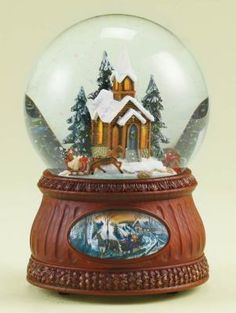 sleigh ride church snowglobe  http://www.victoriantradingco.com/store/catalogimages/4f/i12032.html#