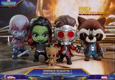 Guardians of the Galaxy Vol. 2 Cosbaby Bobble-Head Set