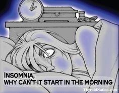 Can't sleep? Counting Sheep? Me, too! www.ThyroidNation.com  #insomnia #health #thyroid #fatigue