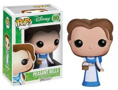 Beauty and the Beast Funko Pop Vinyl figures - Belle