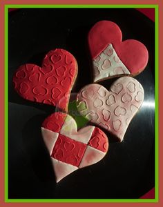 Heart Cookies  Galletas Corazón