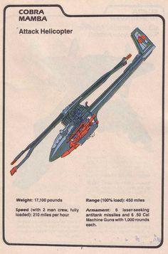 Cobra's Mamba (Attack Helicopter)