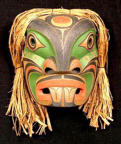 Coastal Tribal Mask