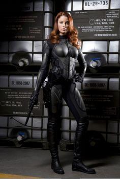 Rachel Nichols as Scarlett - G.I. JOE: The Rise Of Cobra