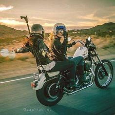 The open road shared with a mate. Our ideal weekend  epic photo by @zachiatrist  via @thedreamroll  #solinvictus #caferacer #caferacerxxx #mercury #mercurycaferacer #custombike #custommotorcycle #scooter #wasp #newcastle #sydney #newtown #camperdown #ninetynineco #croig #tracker #menstyle #workshop #backtogrease #womenwhoride #photography by sol_invictus_moto
