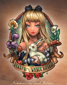Heres Alice :) Available in phone cases & pillows here http://www.artofwhere.com/index.php/artists/index/artistprofile/id/39