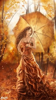 the last warm day by ftourini on DeviantArt Photo Zen, Photo D Art, Gifs, Gif Bonito, Beau Gif, Umbrella Art, Beautiful Gif, Caramel Color, Caramel Brown