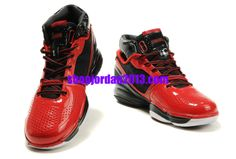 Adidas Adizero Rose 1.0 Red/Black Shoes Cheap NBA Basketball Shoes   #Red  #Womens #Sneakers