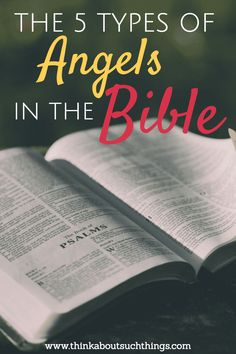 Discover the 5 types of angels found in the Bible