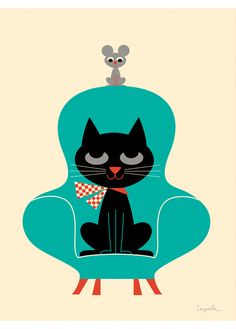 Ingela P Arrhenius Posters - Retro posters for kids - LAffiche Moderne
