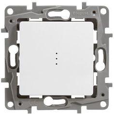 Imaginea Intrerupator cap scara cu led IP20, alb, Niloe, 664510 http://www.etbm.ro/gama-niloe