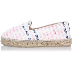 MANEBI Espadrilles IBIZA in Woven Fabric (€66) ❤ liked on Polyvore featuring shoes, sandals, multicolor, manebi espadrilles, manebi shoes, espadrilles shoes, woven sandals and multi colored shoes