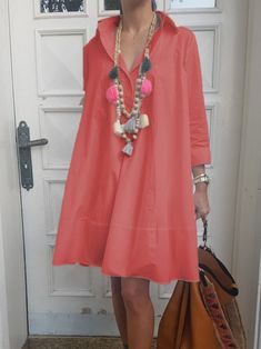 Stylish Dresses, Casual Dresses, Sexy Dresses, Red Dress Outfit Casual, Types Of Sleeves, Dresses With Sleeves, Plus Size Lace Dress, Long Summer Dresses, Summer Outfits