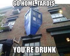 Go home, Tardis...