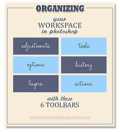 Organizing your Workspace in Photoshop with these 6 Toolbars