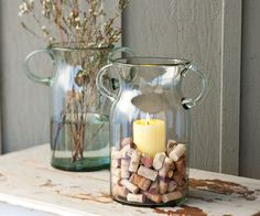 seen a couple diff versions of the cork/candle/votive combo